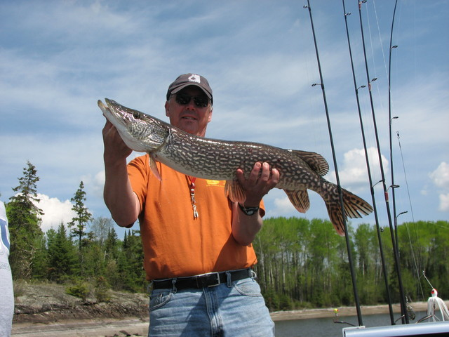 Posing with a Nice Northern Pike