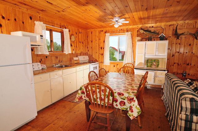 Cabin 8 Kitchen