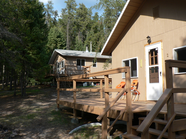 Cabin 2 at Nungesser Lake