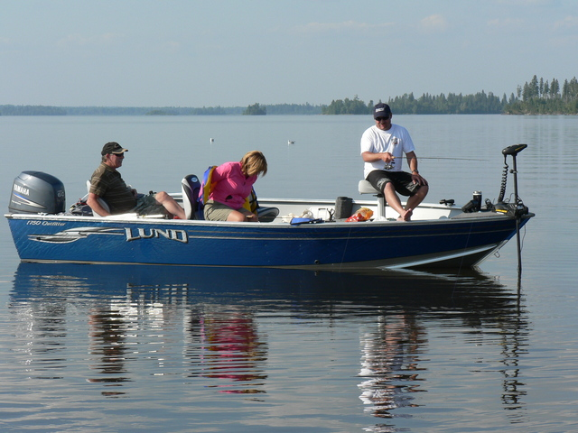 Fishing on Beautiful Lac Seul